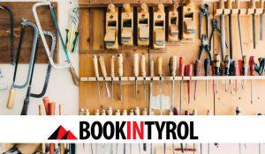 Haus Werkstatt Garten bookintyrol